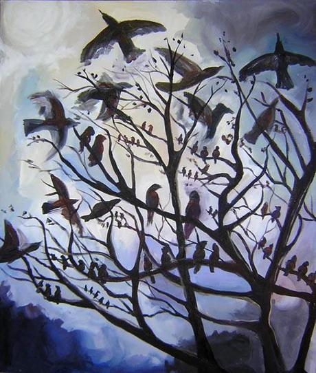 13 Paintings Of Birds