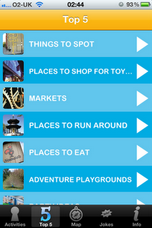 London Unlocked iPhone / iPad App and Guide Book, Top 5