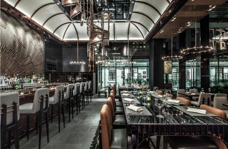 Ammo Restaurant In Hong Kong | Restaurant Design