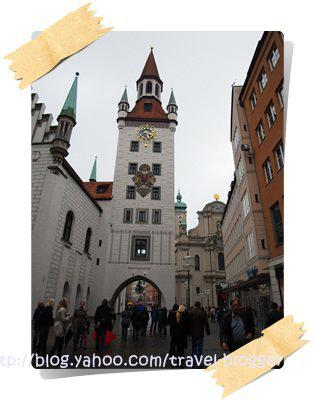 Church tour around Marienplatz