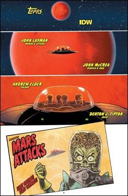 Mars Attacks #1 preview 6