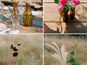 Summer Wildflower Theme Wedding
