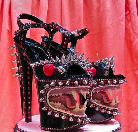 """Pretty or Pretty Ugly?  These """"Fierce"""" Shoes"""