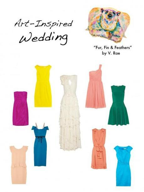 Art Inspired Fashion – Weddings!