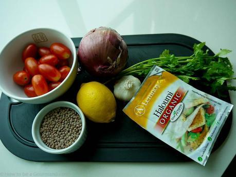 What you'll need for Warm Lentil, Halloumi & Tomato Salad