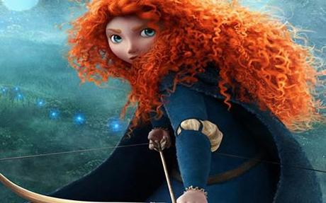 Merida, Brave's feisty heroine