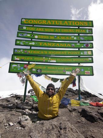 Double Amputee Summits Kilimanjaro