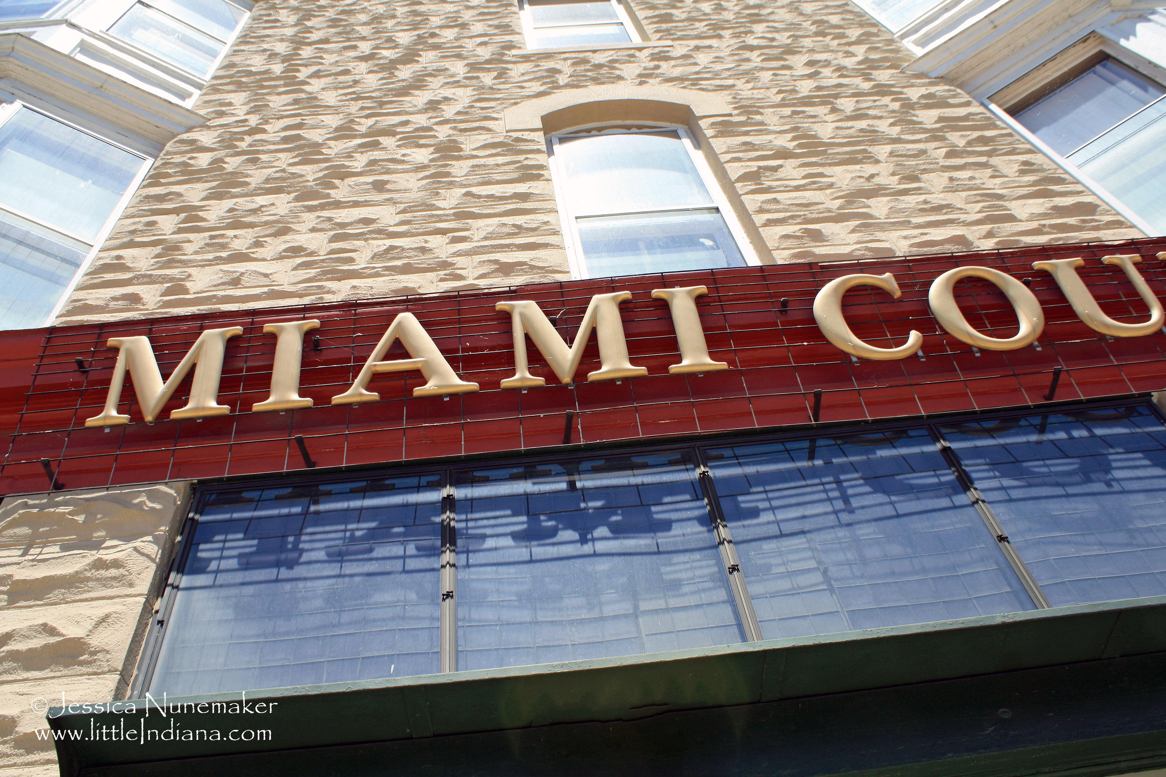 Miami County Museum In Peru Indiana Paperblog - Map of miami county indiana
