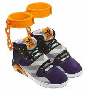 """Adidas """"Shackle"""" Sneakers Cause an Outrage"""