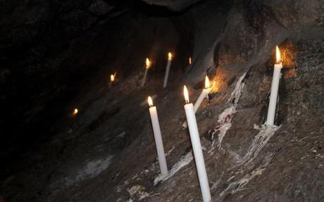 fertility cave caves in agrica candles