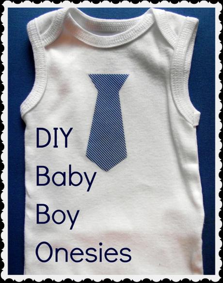 DIY Baby Boy Onesie 474x600 DIY Baby Boy Onesies