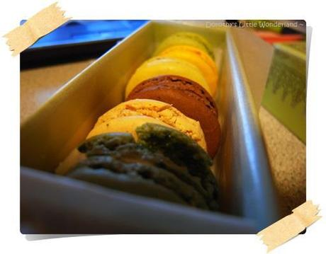 French sweeties - Macaroon by Laduree @ Convent Garden