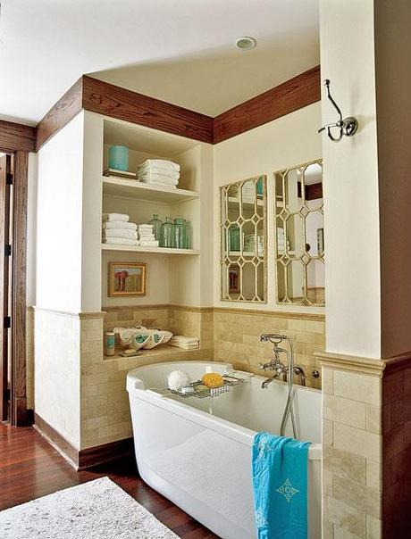 Fresh and beautiful bathrooms for summertime