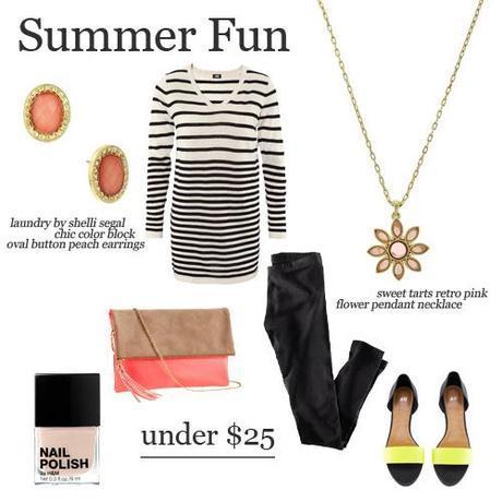 summer fun under 25Fun Summer Pieces Under $25