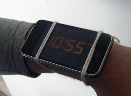 Are mobile phones going to replace watches?