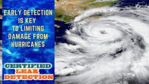leak detection hurricane