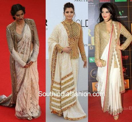 One Saree in Four Styles