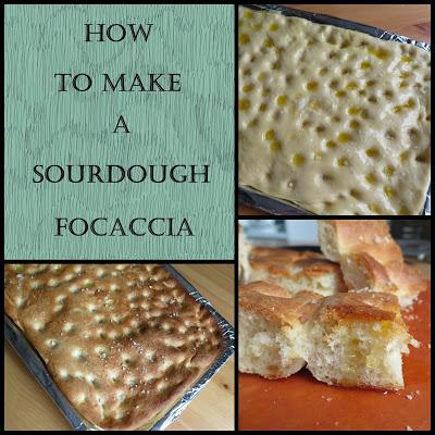 How to Make a Sourdough Focaccia
