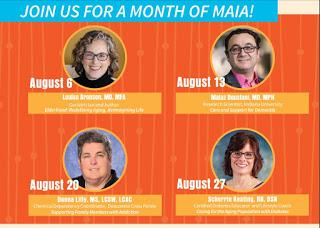 Virtual MAIA Every Thur in August 2020