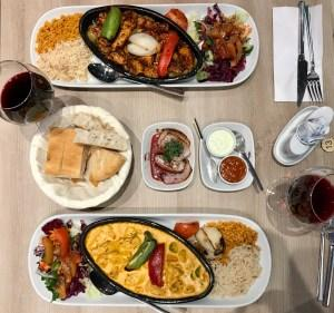 Eda Turkish restaurant merchant city glasgow