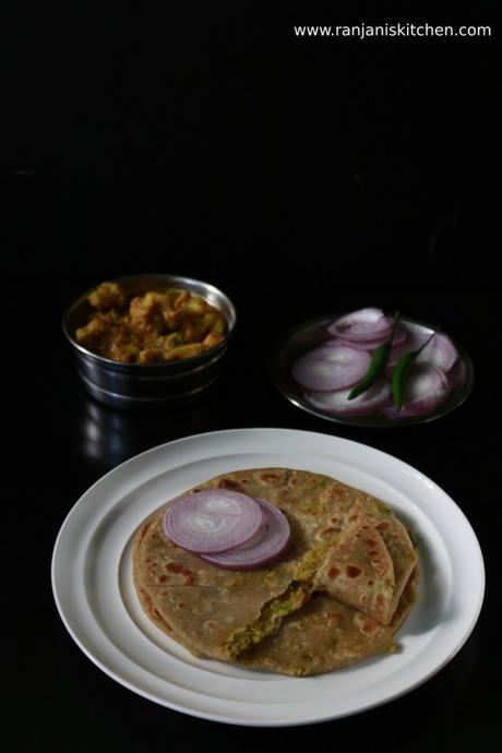 Cauliflower keema Paratha recipe | cauliflower stuffed Indian flat bread