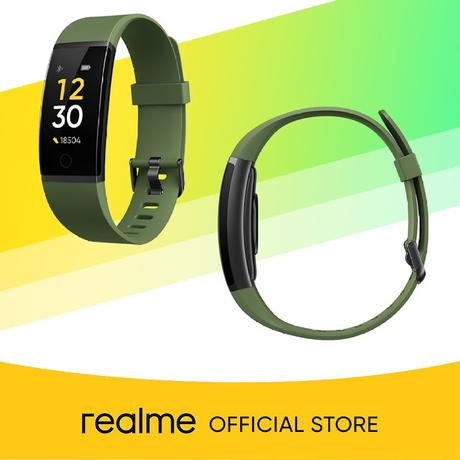 Realme Fitness Band available on Shopee