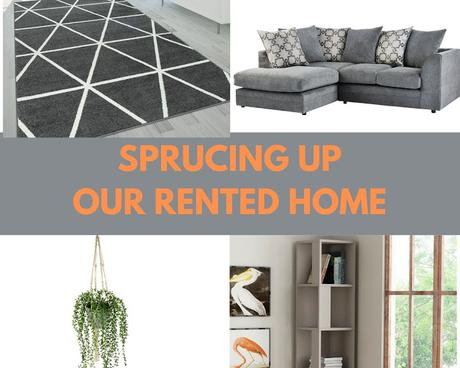 Sprucing Up Our Rented Home