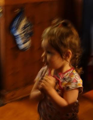 Josie has Braids--and Meets Igorina--with Social Distancing
