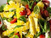 Farm Fresh Corn Caprese Salad