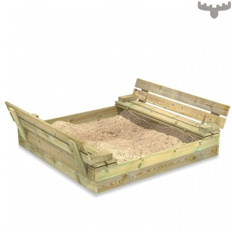 *GIVEAWAY* Win A Wooden Sandpit With Lid For Your Garden & Other Garden Play Ideas From Fatmoose