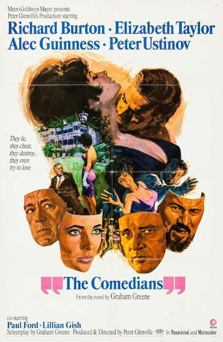 ABC Film Challenge – Romance – C – The Comedians (1967) Movie Rob's Pick
