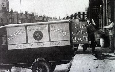 RIP Clark's Creamed Barley (CCB) ghostsign, Mornington Crescent