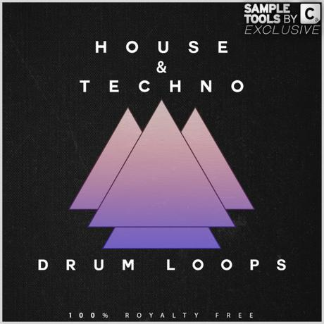 House and Techno Drum Loops WAV