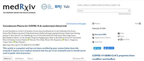 Convalescent Plasma in COVID-19: The Dutch ConCOVID Randomized Controlled Trial Halted for Re-design