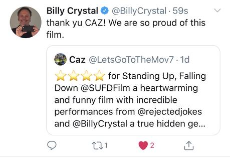 Billy Crystal on Twitter!