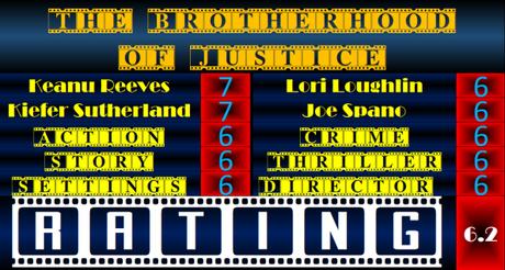 Keanu Reeves Weekend – The Brotherhood of Justice (1986) Movie Review