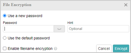 Multcloud File Encryption