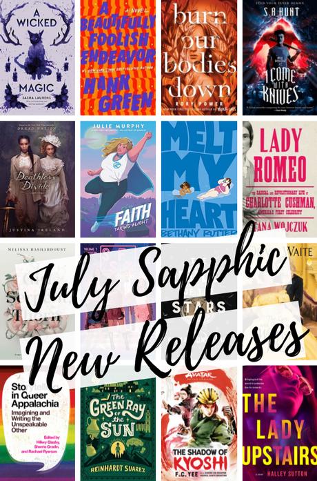 42 Bi & Lesbian Books Out in July!