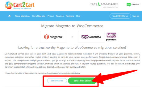 How To Migrate Magento to WooCommerce Using Cart2Cart 2020