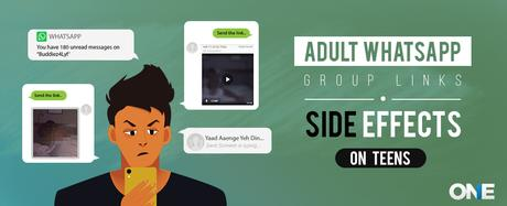 Adult WhatsApp Group Links: Side Effects on Digital Teens