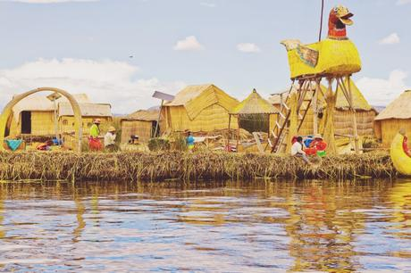Uros Floating Villages in Lake Titicaca
