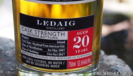 1997 The Munros Ledaig 20 years Details Label