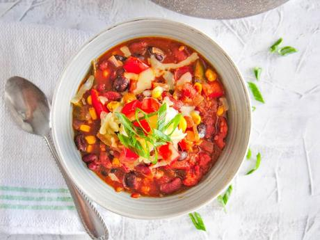 The Best Instant Pot Vegetarian Chili EVER!