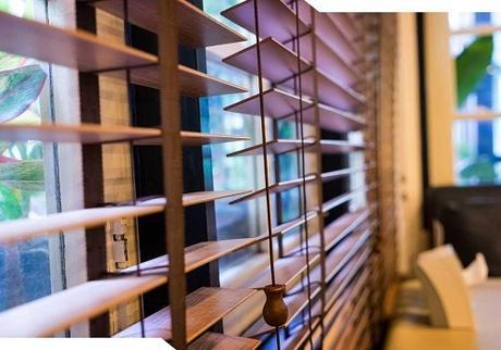 wood window shutter