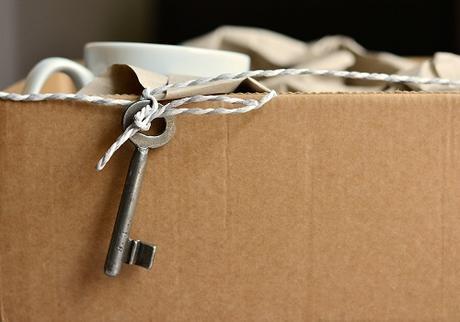 box with key