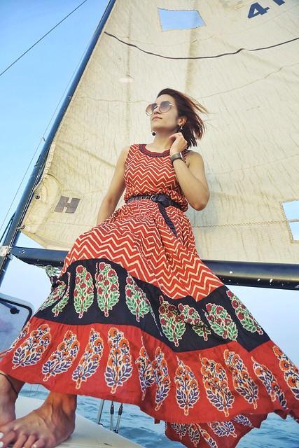 Indian Print Maxi Tanvii.com 6