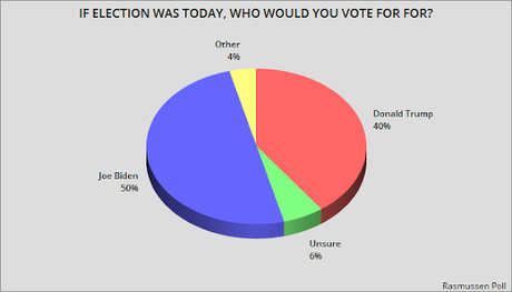 Another Poll Has Biden With A Double-Digit Lead
