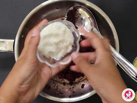 Beetroot Ladoo for Babies [No sugar Dessert for Babies]