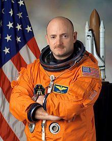 Official NASA photo of Kelly