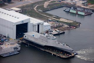 Doug Jones ignores criminal investigation at Austal USA as he decries Mobile firm's loss of U.S. Navy shipbuilding contract to competitor in Wisconsin